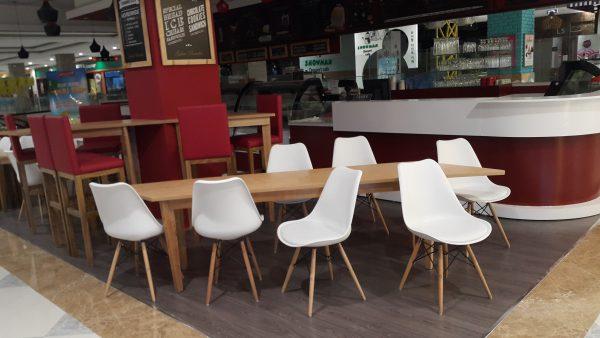GHẾ CAFE EAMES JE-10