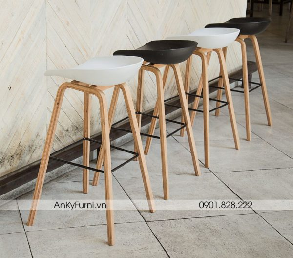 HAY ABOUT A STOOL - GHẾ BAR CAFE JB-818 (65cm)