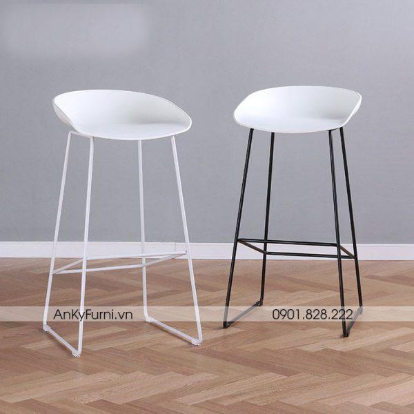HAY BAR CHÂN SẮT - GHẾ BAR CAFE JB-818S