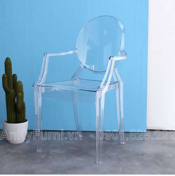 GHẾ CAFE GHOST CHAIR