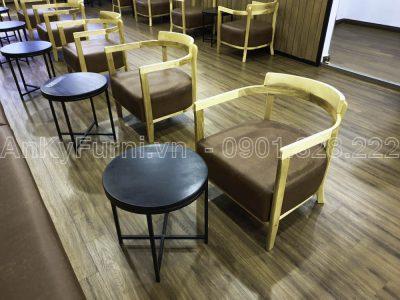 GHẾ GỖ CAFE BUCKY JS-001