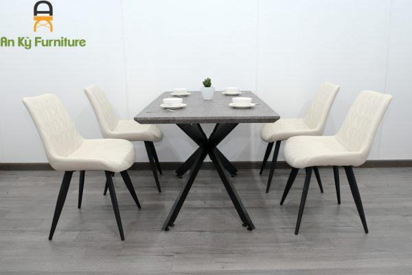 Combo bộ bàn ăn ghế Aster 101 của Nội Thất An Kỳ