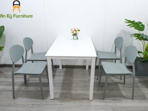Combo bàn ăn nedin M20 dành cho 1 bàn 4 ghế của Nội Thất An Kỳ