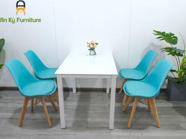Combo bàn ăn eames ME09 dành cho 1 bàn 4 ghế của Nội Thất An Kỳ