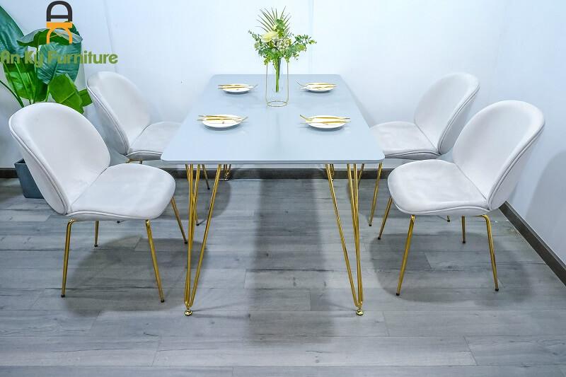 Combo Bàn Ăn Hommie BH001 dành cho 1 bàn 4 ghế
