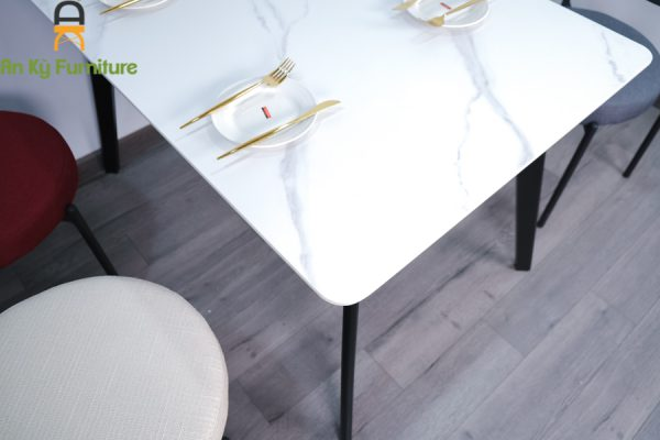 Combo Bàn Ăn Aster T252-14-Verpan dành cho 1 bàn 4 ghế
