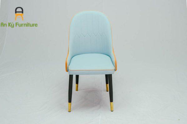 Ghế Cafe Aster 622 của Nội Thất An Kỳ chân sắt sơn tĩnh điện , nệm bọc vải simili cao cấp