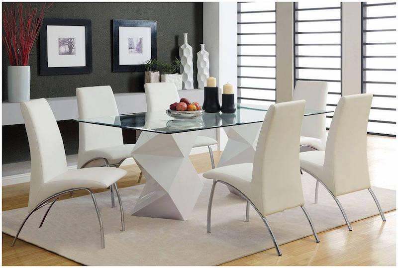 Bộ bàn ăn gỗ 6 ghế được thiết kế tinh xảo