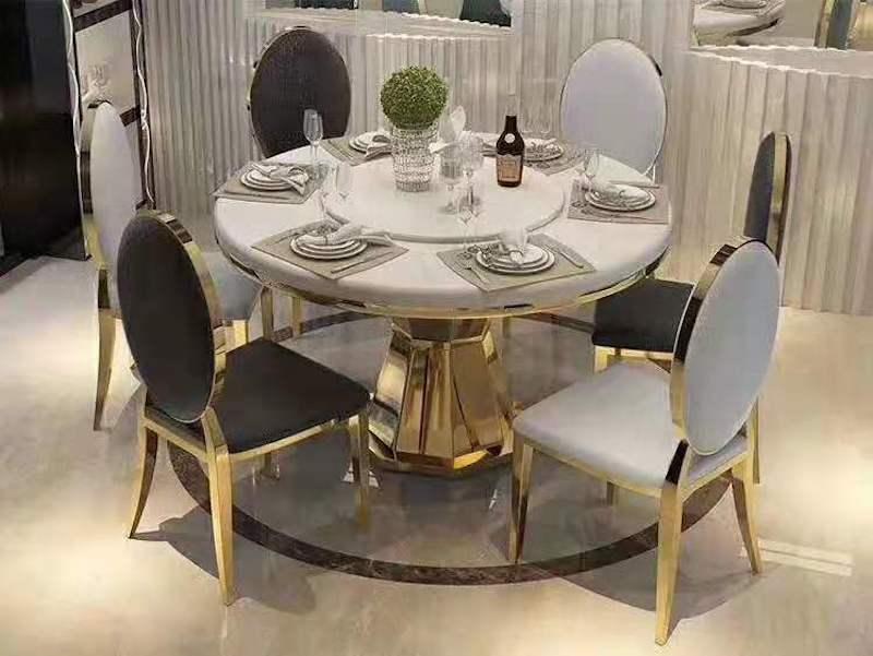 Bộ bàn ăn mang phong cách sang trọng, đẳng cấp