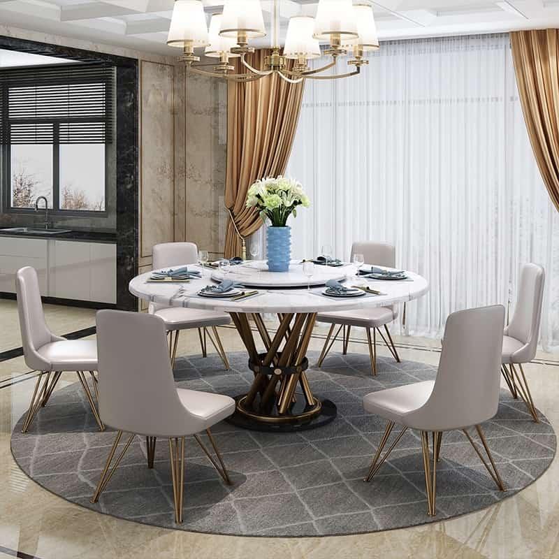 Bộ bàn ăn phong cách trang nhã