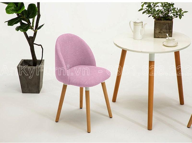 Ghế cafe giá rẻ Victoria Ghost Chair Cafe Heather (JC-9005)