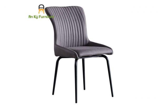 Ghế Cafe Mindy (JC-627) chân sắt mặt nệm vải của Nội Thất An Kỳ-Ankyfurni