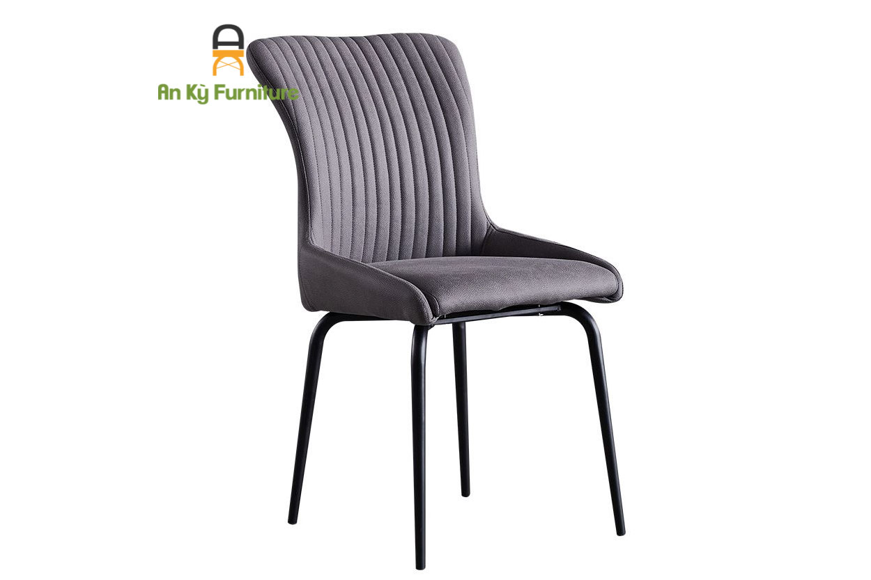 GHẾ CAFE MINDY (JC-627) chân sắt nệm vải