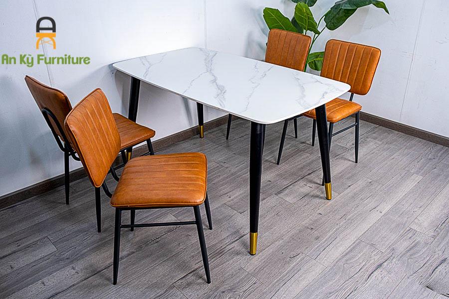 Combo Bàn Ăn Aster T140237 dành cho 1 bàn 4 ghế