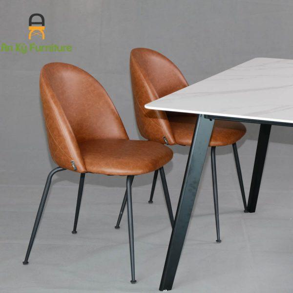 Combo Bàn Ăn Aster2524-195 dành cho 1 bàn 4 ghế (80X140)