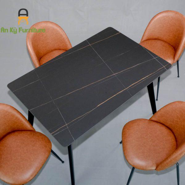 Combo Bàn Ăn Aster2522-195 dành cho 1 bàn 4 ghế (80X120)