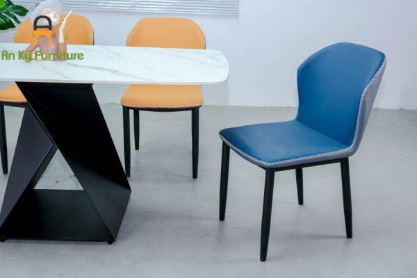 Combo bàn ăn Olwen182 Của Nội Thất An Kỳ - Ankyfurni với chất liệu chân sắt sơn tĩnh điện , mặt đá thiêu kết
