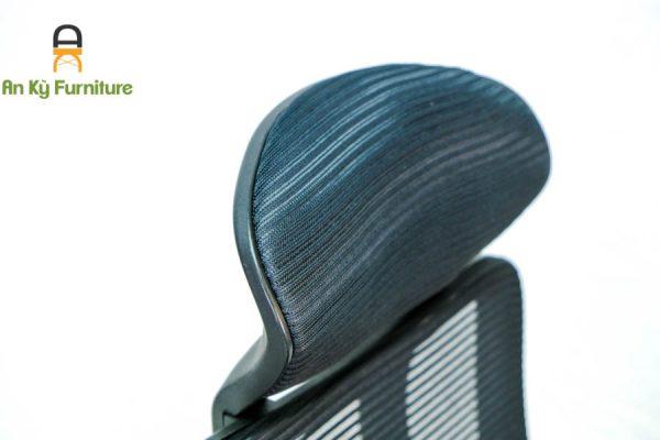 Ghế Chân Xoay Có Tựa Đầu JO-836 của Nội Thất An Kỳ - Ankyfurni.vn với chân liệu nhựa PP , vải lưới , có thể ngả nằm