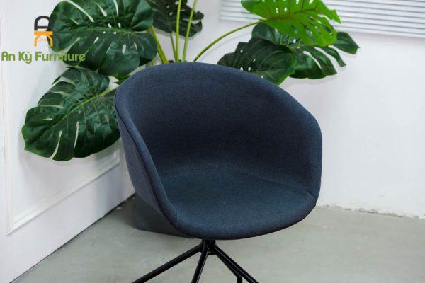 Ghế làm việc Hay-AFX của Nội Thất An Kỳ với chất liệu chân sắt sơn tĩnh điện , mặt nệm vải bố