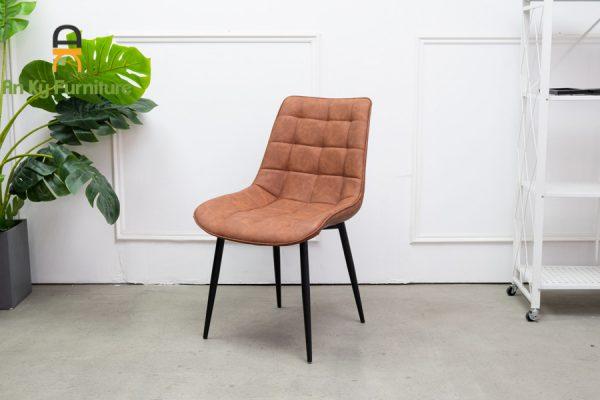 Ghế Ăn Cafe Ralph 191 của Nội Thất An Kỳ - Ankyfurni.vn với chất liệu chân sắt sơn tĩnh điên , mặt ghế vải da simili