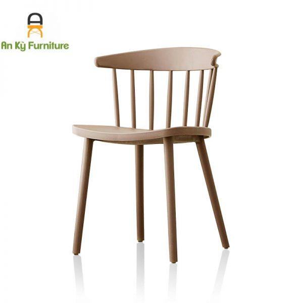 Ghế Cafe Nhựa PP đúc nguyên khối 3004 của Nội Thất An Kỳ - AnKyfurni