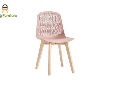 Ghế Cafe Nhựa PP Chân Gỗ Sồi 303B của Nội Thất AN Kỳ -Ankyfurni