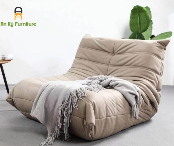 Ghế Thư Giản Togo Sofa của Nội Thất An Kỳ - AnKyfurni với chất liệu Vải Da PU chống thấm