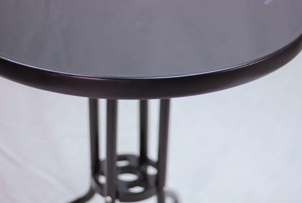 Bàn Cafe Ngoài Trời Tosca JT-262T Của Nội Thất An Kỳ với Chất liệu chân sắt sơn tĩnh điện , mặt kính cường lực